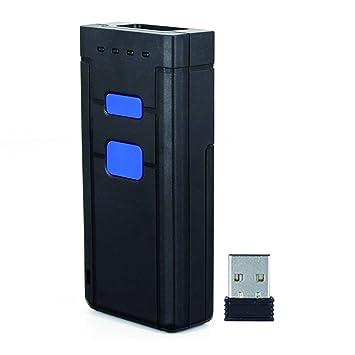 Lector de códigos de barras Bluetooth Mini inalámbrico portátil lector de código: Amazon.es: Electrónica