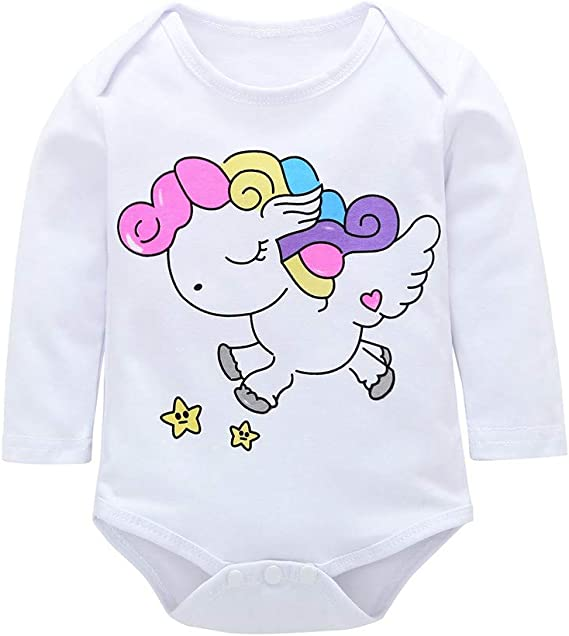Ropa Bebe Vestido Bebe Niña Niño Recién Nacido De Manga Larga De ...
