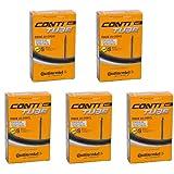 Continental Race 28 (700c) x 20-25c Bike Inner Tubes - 80mm Long Presta Valve (Pack of 5)