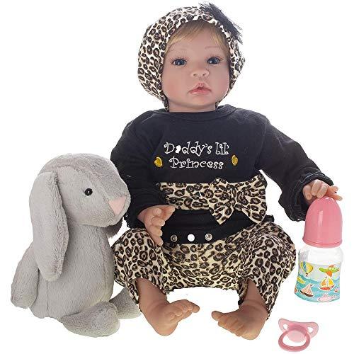 Bebê Reborn Laura Baby Anita Shiny Toys Loira