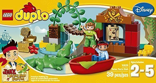 LEGO DUPLO (39pcs) Jake Peter Pan's Visit Toy for Kids Figures Building Block Toys (Peter Pan Boat compare prices)