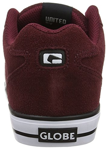 GlobeEncore-2, Zapatillas de Skateboard Hombre Rojo (Wine/White)