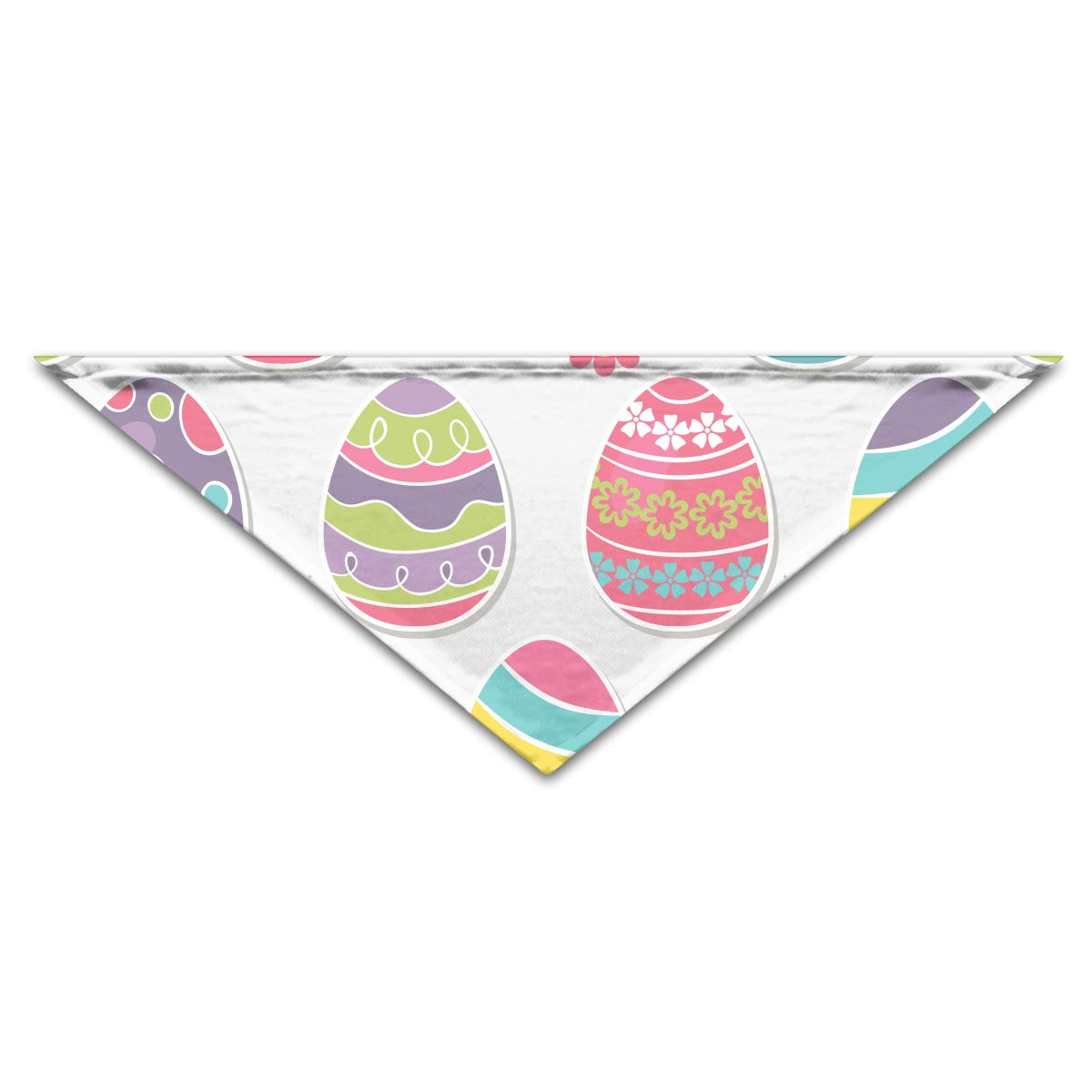 Amazon.com: OLOSARO Dog Bandana Multicolors Easter Eggs ...