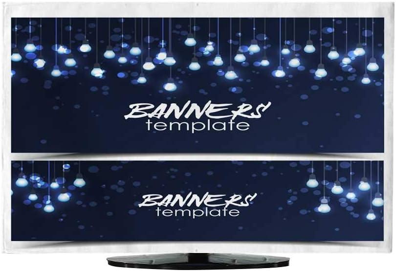 TV Dustproof Cover - Paneles de Tela para Venta 330/32: Amazon.es: Electrónica