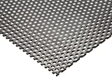 Online Metal Supply 304 Stainless Steel Perforated Sheet .035'' (20 ga.) x 24'' x 48'' - 1/8'' Holes