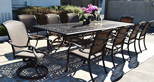 10 person patio set 1 elizabeth 48 x 132 extension for 10 person dining table for sale