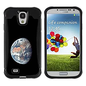 Fuerte Suave TPU GEL Caso Carcasa de Protección Funda para Samsung Galaxy S4 I9500 / Business Style Space Planet Galaxy Stars 55