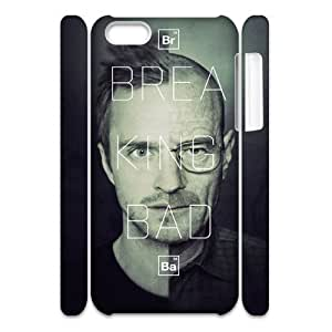 LJF phone case C-EUR Diy 3D Case Breaking bad for iphone 4/4s