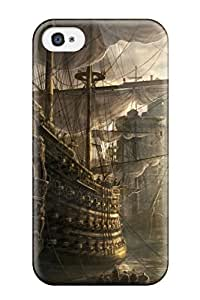 ClaudiaDay Case Cover Protector Specially Made For Iphone 4/4s Empire Total War