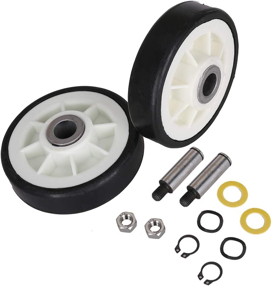 306508VP 33001777 Dryer Repair Kit Replace Part No 33002535 303373 12001541 Dryer Drum Roller Kit /& 306508 Dryer Drum Bearing Kit /& WP33002535 Dryer Drum Belt for Maytag Crosley Clothes Dryer