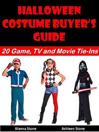 Art Stone Holiday Costumes (Halloween Costume Buyer's Guide: 20 Game, TV and Movie Tie-Ins (Holiday Entertaining Book 21))