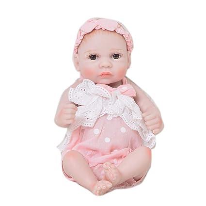 Amazon.es: Muñecos bebé, Moda 11 Pulgadas Mini Muñeca Reborn ...