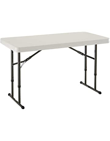 e261e52e7ef Lifetime 4-Foot Adjustable Height Folding Table