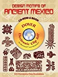 img - for Design Motifs of Ancient Mexico CD-ROM and Book (Dover Electronic Clip Art) by Jorge Enciso (2004-05-25) book / textbook / text book