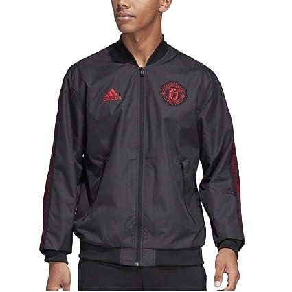 73000f452bf0c Amazon.com : adidas Men's Manchester United Anthem Jacket 2018-2019 ...