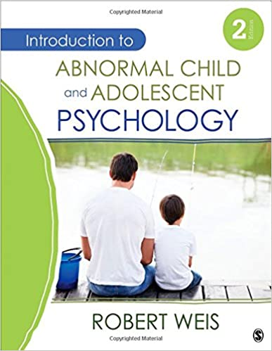 Introduction to abnormal child and adolescent psychology introduction to abnormal child and adolescent psychology 9781452225258 medicine health science books amazon fandeluxe Images