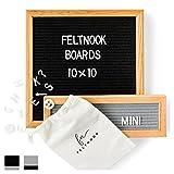Kyпить Felt Letter Board Home Decor - Message Board 10x10 AND Mini Felt Board - Wall Decor - 346 Letterboard Letters на Amazon.com