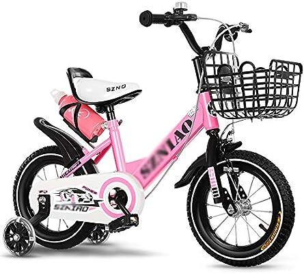 Bicicletas ZX Infantiles, Adecuado para Niñas Y Niños De 2 A 8 ...
