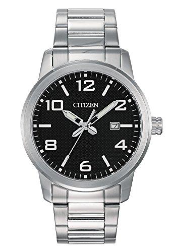 Citizen Quartz Mens Watch w/ Date, BI1021-54E