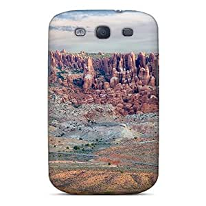 AnnetteL Galaxy S3 Well-designed Hard Case Cover Salt Valley Arches Np Utah Protector
