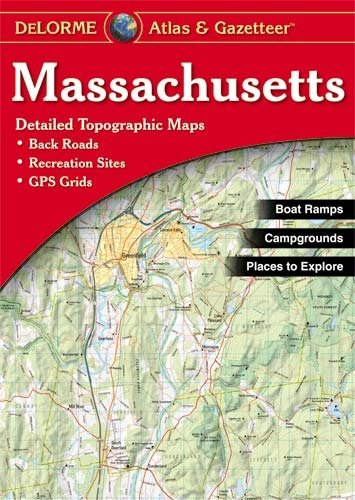 Delorme Massachusetts Atlas - 341-9