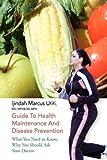 Guide to Health Maintenance and Disease Prevention, Ijindah Marcus Uriri, 1441500510