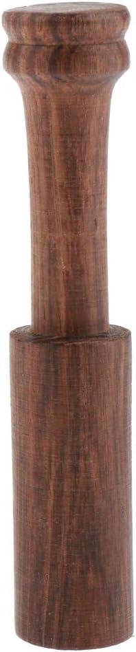Mazo de Madera para Cuenco de Canto Taz/ón de Budista 12.5 x 2.5 cm