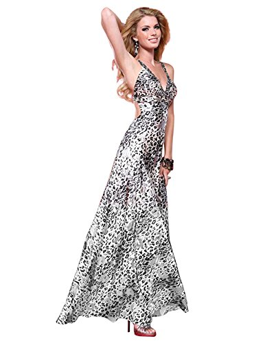 Scala Prom Dress 17072, Print, 8