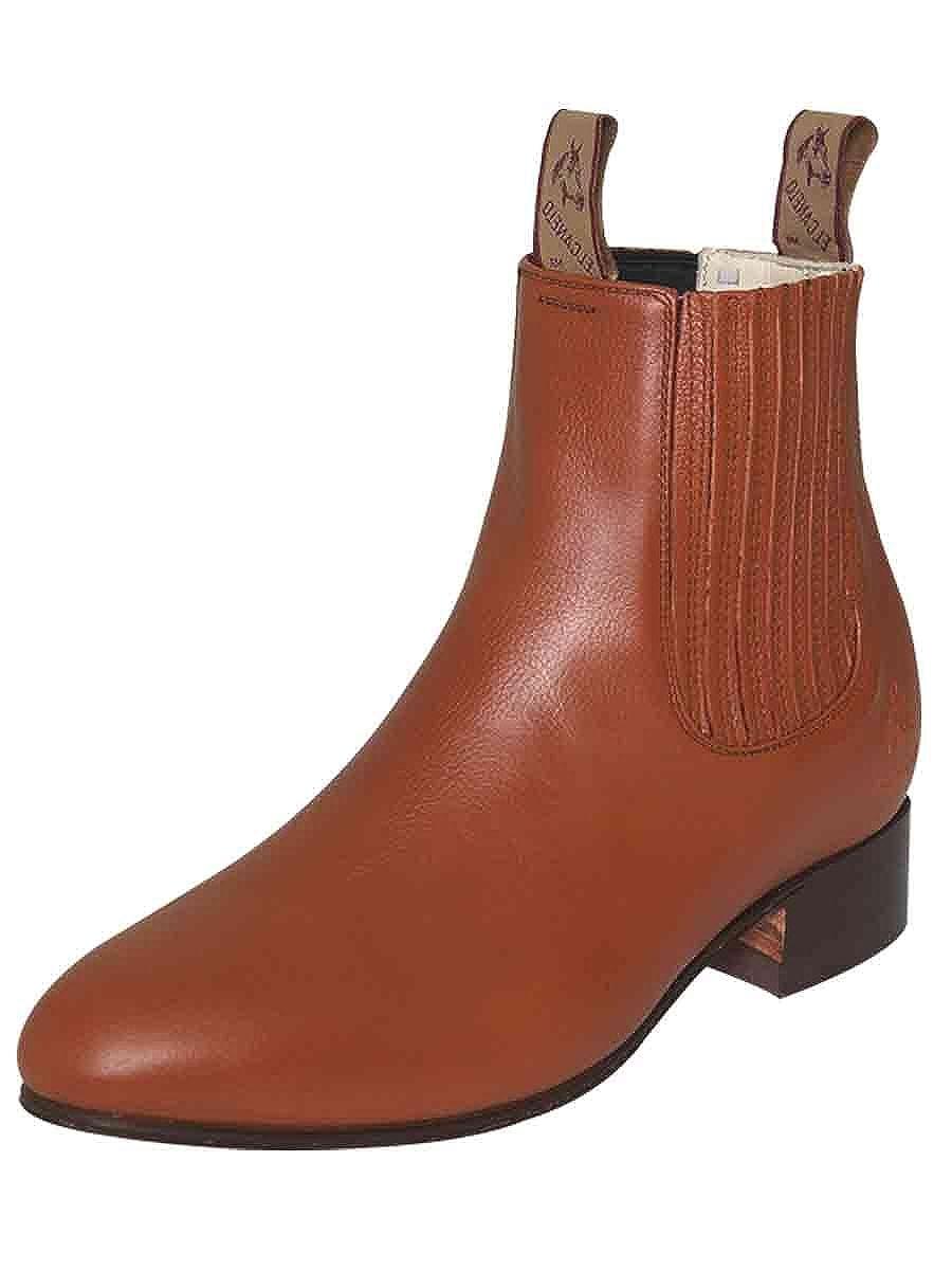Amazon.com | EL CANELO Botin Charro/a ID 227 (Bc) Piel Deer Maple | Boots