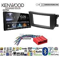 Volunteer Audio Kenwood DMX7704S Double Din Radio Install Kit with Apple CarPlay Android Auto Bluetooth Fits 2007-2015 Mazda CX-9