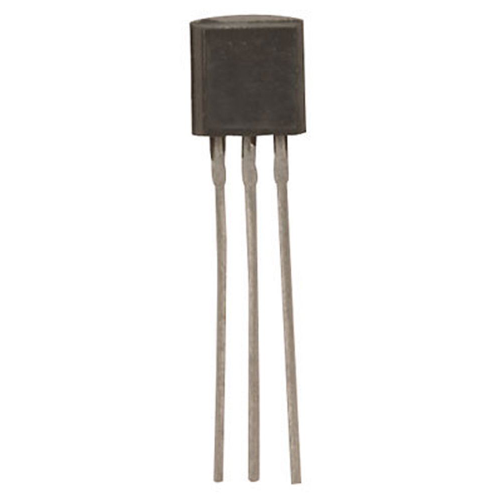 Major Brands MPSA13-VP Darlington NPN Transistor, 30 Volt, 0.5 Amp, 3-Pin, TO-92, 5.33mm Height, 4.19 mm W x 5.21 mm L x 5.33 mm H (Pack of 40)