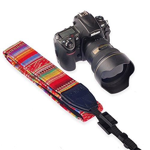 Bluecell LC-006A Multi Color Digital SLR Camera/Camcorder Neck Shoulder Straps Belt A-4