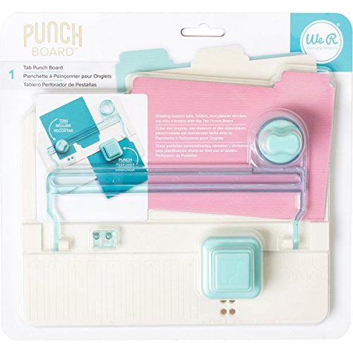 American Crafts We R Memory Keepers Tab Punch Board]()