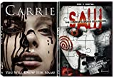 Saw: The Complete Movie Collection + Carrie (2013) DVD Movie Double Feature Horror & Suspense Possession & Killing