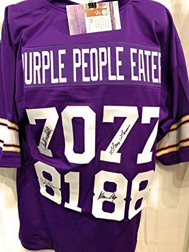 more photos e4337 d7c7c Carl Eller Minnesota Vikings Jersey, Vikings Carl Eller ...