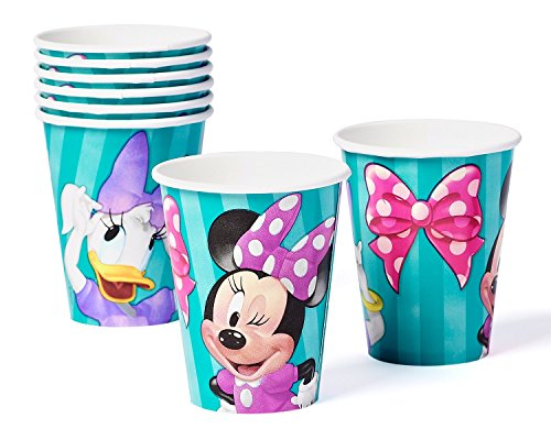Minnie Mouse & Daisy Duck Disposable Paper Cups (Daisy Duck Birthday Supplies)