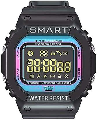 QPBP 活動トラッカー歩数計の手順カロリーカウンターストップウォッチを持つ男性の軍事戦術腕時計女性特殊部隊戦術防水スポーツ (Color : B)