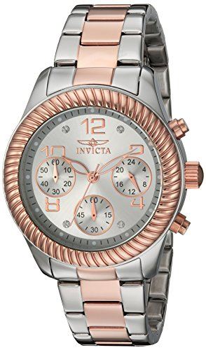 Invicta Women's 20269 Angel Analog Display Quartz Two Tone Watch