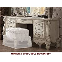 ACME Versailles Bone White Vanity Desk