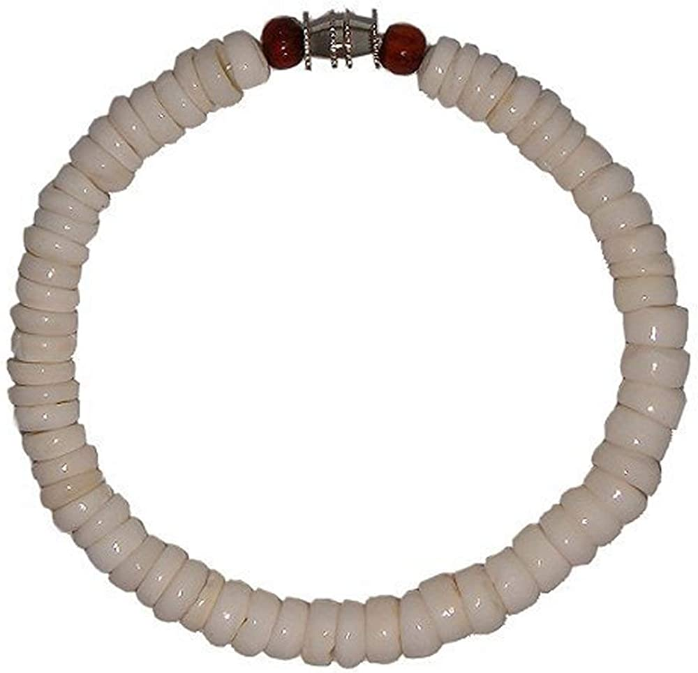 Puka Shell Beaded Bracelet