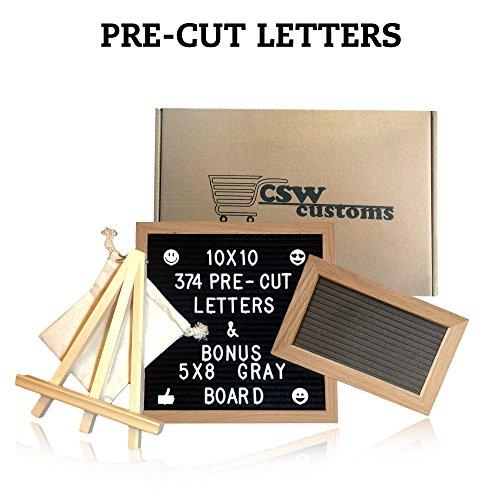 Felt Letter Board Organizer 10