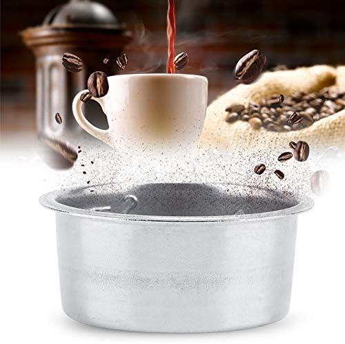 ステンレス鋼フィルターバスケット、Brevilleの再利用可能な洗濯可能な非加圧コーヒーフィルターバスケット
