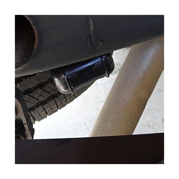 Magnetic Hide A Key Fob Waterproof Magnet Stash Box Under Vehicle GPS Holder