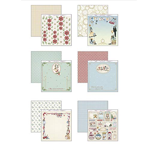 30 x 30 cm Paper Dayka Trade Scrapbooking Kit Multi-Colour