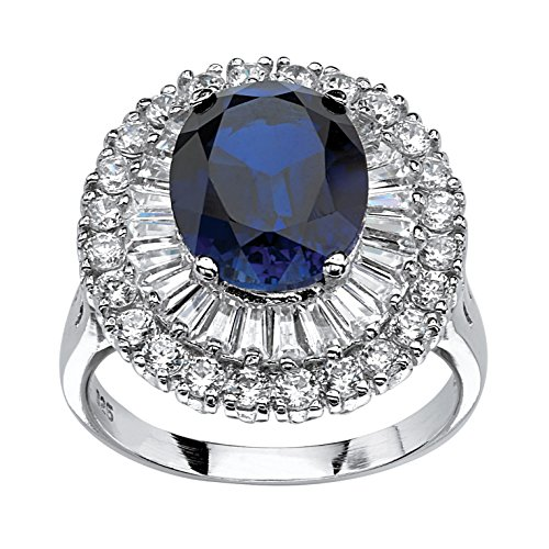 Tapered Zircon Ring - 6