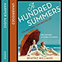 A Hundred Summers Audiobook by Beatriz Williams Narrated by Kathleen McInerney