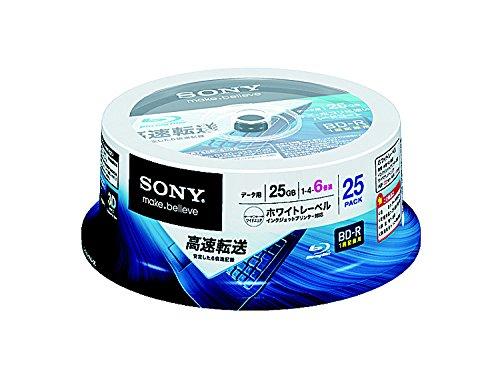 SONY Blu-ray Discs 25 Spindle - BD-R 25GB 6X (2011)