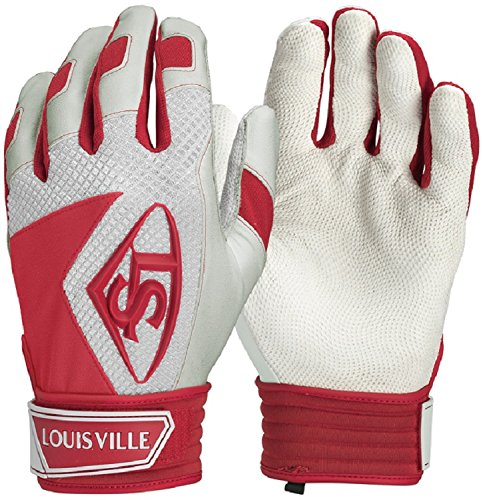 Louisville Slugger Series 7 Batting Glove, Scarlet, - Batting Glove Away Adult