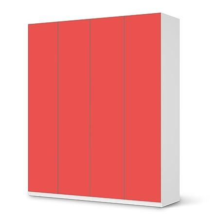 Designer Skin IKEA PAX Wardrobe 236 cm High - 1, 2, 3, 4