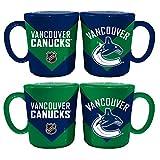 Memory Company NHL Vancouver Canucks Chevron Salt & Pepper Shaker Mugs, One Size, Multicolor